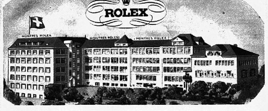 Die Geschichte der Rolex SA
