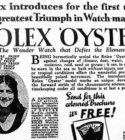 ROLEX – Historische Meilensteine