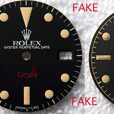 Hochwertig gefälschte Rolex Vintage Zifferblätter
