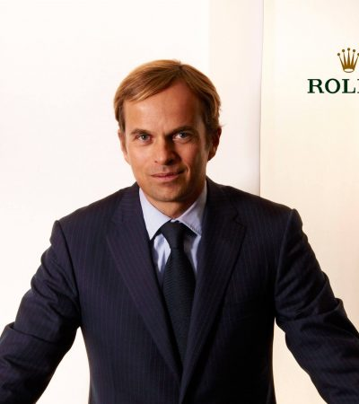 Jean-Frédéric Dufour ab Juni neuer Rolex CEO