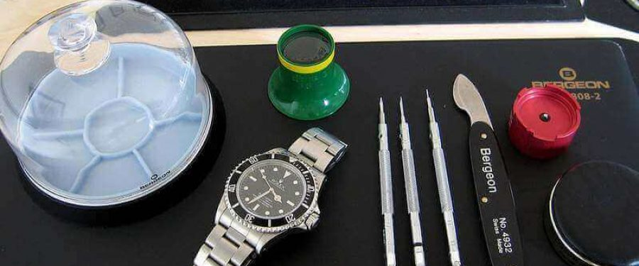 Einmalige Bilder einer Rolex Submariner Aufarbeitung