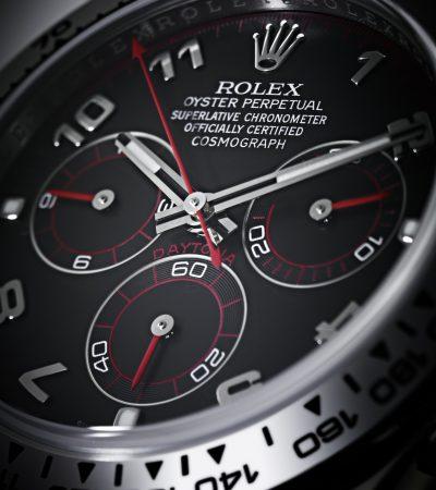 Das Rolex Zifferblatt