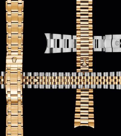 Rolex Bänder und Schließen