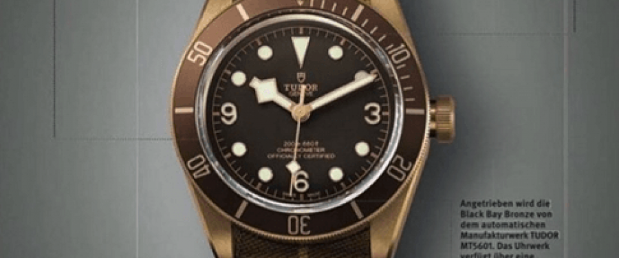 Breaking news – Baselworld – Tudor Black Bay Bronze!