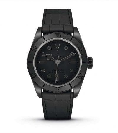 "Tudor stellt die Black Bay Ceramic One ""Only Watch"" vor."